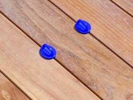 Espaceurs de lame terrasse 3 mm