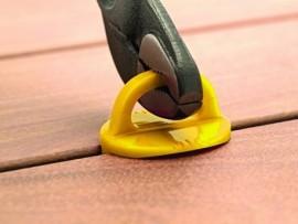 Espaceurs de lame terrasse 7 mm