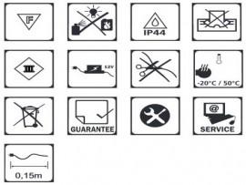 télécommande  et récepteur éclairage extérieur