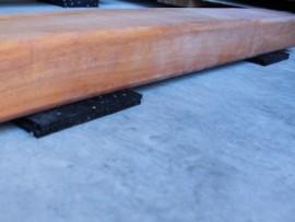 cales caoutchouc terrasse bois 3 mm