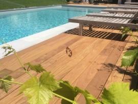 Lame terrasse bois exotique Cumaru 20 x 140 mm
