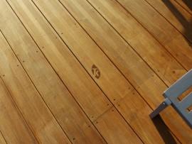 lames terrasse bois hévéa