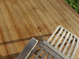 lame terrasse bois hevea