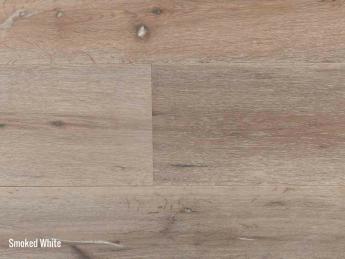 lames de parquet bois contrecollé smoked white