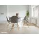 parquet bois contrecollé salle à manger - coloris natural white new york