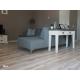 parquet bois contrecollé salon - coloris white - farm