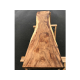 Plateau en bois exotique