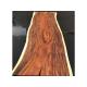 Plateau en bois exotique pour table à manger