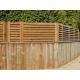 Panneau clôture bois jardin