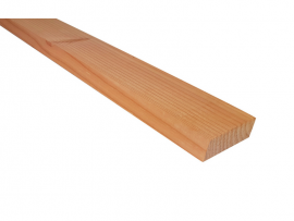 Bardage Douglas claire-voie 20 x 72 mm - biseauté