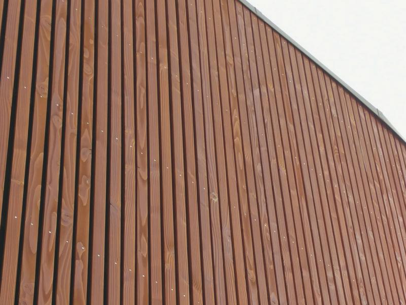 bardage douglas claire-voie 20 x 72 mm - biseauté - tekabois