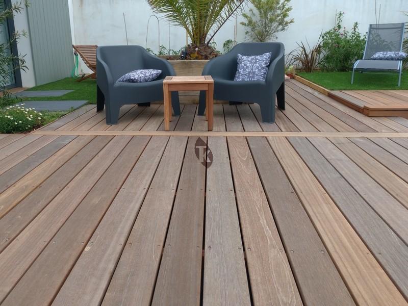 lames de terrasse en bois exotique bangkira tekabois. Black Bedroom Furniture Sets. Home Design Ideas