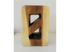 lettre bois exotique décoration intérieure