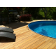 Lame terrasse bois exotique garapa 21 x 145 mm