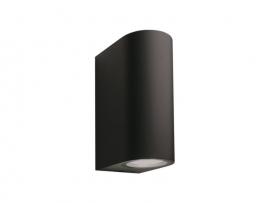 applique murale sibus noir éclairage extérieur