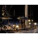 lampadaire extérieur rumex  éclairage jardin