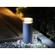 Lampe linum éclairage terrasse bois