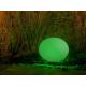 Boule lumière design pour éclairage jardin