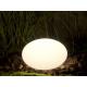 Lampe boule design blanc et couleurs