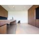 lames de parquet bois contrecollé villa courchevel bureau