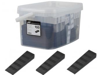 Cales crantées - boîte 100 pièces