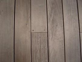 Bouchons bois cache fixation en Ipé