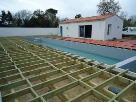 photo lambourde pour structure terrasse bois