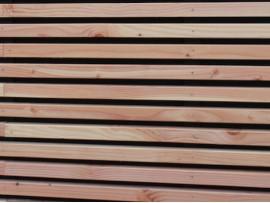 bardage Douglas claire-voie 27 x 42 mm