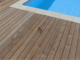 Lame de terrasse bois en teck