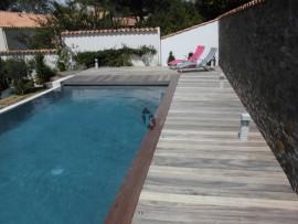 lame terrasse en Padouk