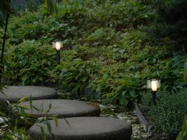 lampadaire extérieur vitex éclairage allée jardin