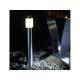 Lampadaire Albus inox éclairage jardin