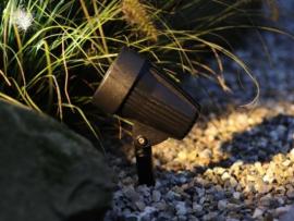 spot corvus à led  pour éclairage jardin
