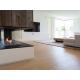 lames de parquet bois contrecollé villa courchevel salon