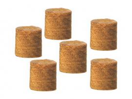 Bouchons cache-fixation en Ipé - 9,5 mm - boîte 100