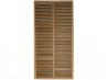 Panneau bois exotique bangkirai largeur 90