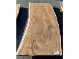 Plateau en bois 60 x 850-900 x 2500 mm - mod 2