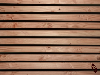 Bardage Douglas claire-voie 40 x 40 mm