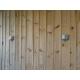 Bardage cabane ostréicole marron