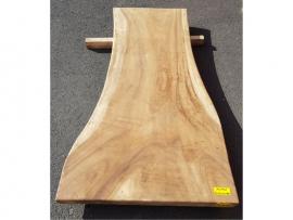 Plateau en bois 80 x 750-1100 x 2000 mm