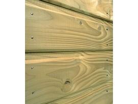 Bardage Douglas vert 22 x 135 mm