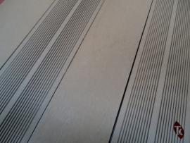 Lame terrasse composite gris clair
